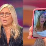 Mara Venier videochiama Elisa Isoardi in diretta, ma lei è appena uscita dalla doccia