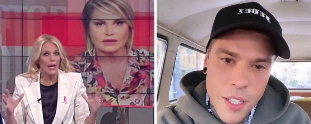 Eleonora Daniele attacca Chiara Ferragni, ma Fedez la difende