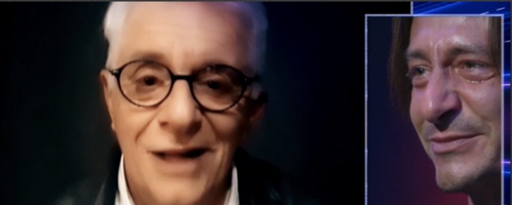 GFVip, Francesco Oppini in lacrime davanti a papà Franco: 'Può contare su di me per tutto'