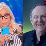 Mara Venier legge in diretta il messaggio di Gerry Scotti: 'Lo dimettono'