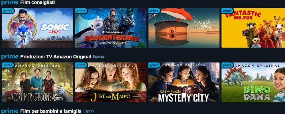 I migliori film e serie TV per bambini e ragazzi su Amazon Prime Video