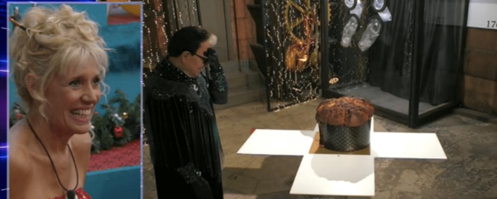 GFVip ventottesima puntata, torna Malgioglio e mangia il panettone con i vipponi