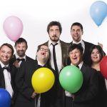 Up&Down - Un Natale Normale, Paolo Ruffini insieme agli attori con la sindrome di Down