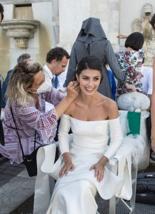 L'Allieva 3, le foto del matrimonio tra Alice Allevi e Claudio Conforti