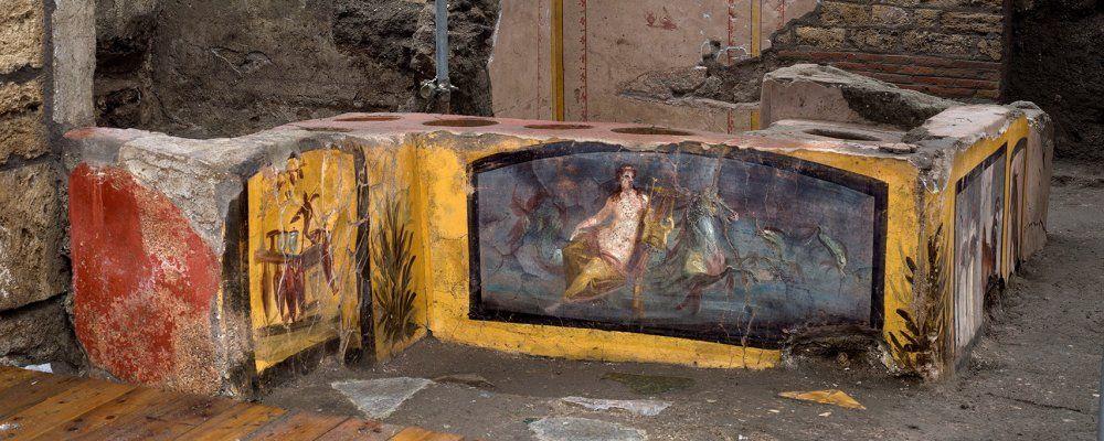 Pompei ultima scoperta, il documentario con i nuovi ritrovamenti compreso il Thermopolium