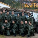 Ascolti tv, dati Auditel 27 gennaio: La Caserma debutta sfiorando il 10% di share