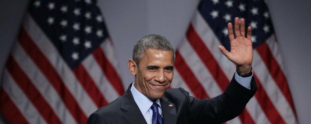 Che tempo che fa, Fabio Fazio intervista Barack Obama