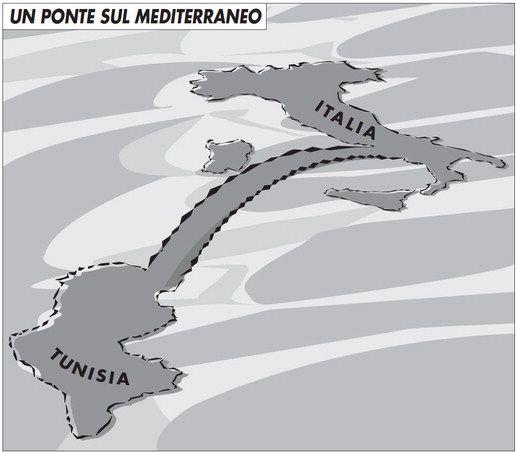 ITALIA-TUNISIA: UN PONTE SUL MEDITERRANEO - Limes