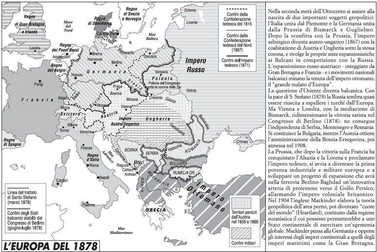 Cartina Storica Prima Guerra Mondiale.Atlante Storico Dell Europa Limes