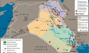 Gli Iraq energetici