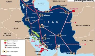 Il gas per l'Iran