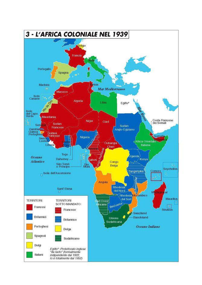 Cartina Politica Africa In Italiano.Atlante Storico Geopolitico Del Continente Nero Limes