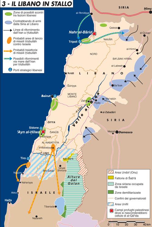 Il libano in stallo