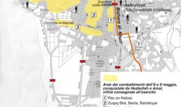 Hot Map: il Libano verso i cantoni (armati)