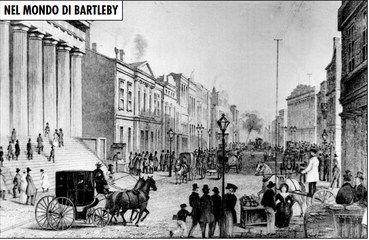 Figura 2 - Wall Street vista dall'angolo di Broadway, New York 1867 Fonte: The National Archives.