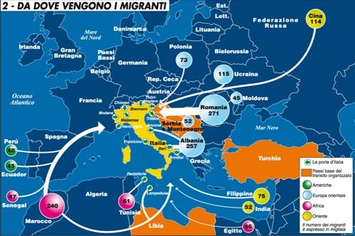 Immigrazione in italia oggi dating