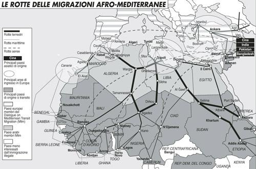 Migrazioni: l'Italia e l'incognita Libia