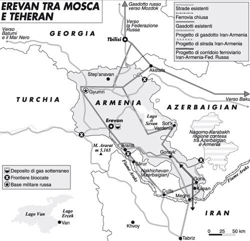 Il Caucaso e le avance di Ankara