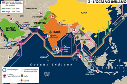 Pirati: a rischio le rotte del petrolio
