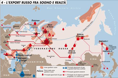 Gas: la Russia sta rovinando il suo monopolio