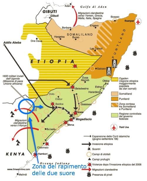Kenya-Somalia: liberate le due suore italiane