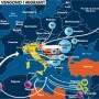 Italia-Libia: centinaia di migranti dispersi