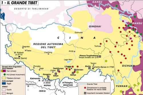 Tibet, un paradiso infernale