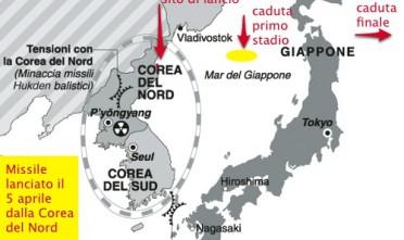 Missile: la Corea del Nord sfida il mondo