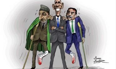 Obama, Karzai e Zardari visti dalla Somalia