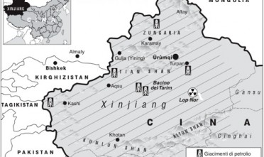 Cina: un Xinjiang rosso, di sangue