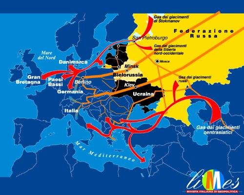 Gas: la tenaglia russa