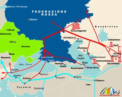 Nabucco vs. South Stream