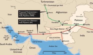 Iran-Pakistan-India: il gasdotto della pace