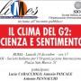 Il clima del G2: scienza e sentimento