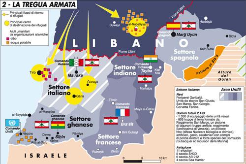 Graziano: in Libano per la pace e per Unifil il cammino è lungo