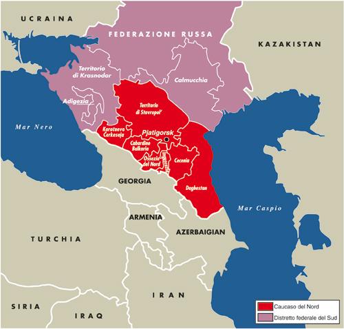 Caucaso russo: cambiarne la geografia per cambiarne la storia