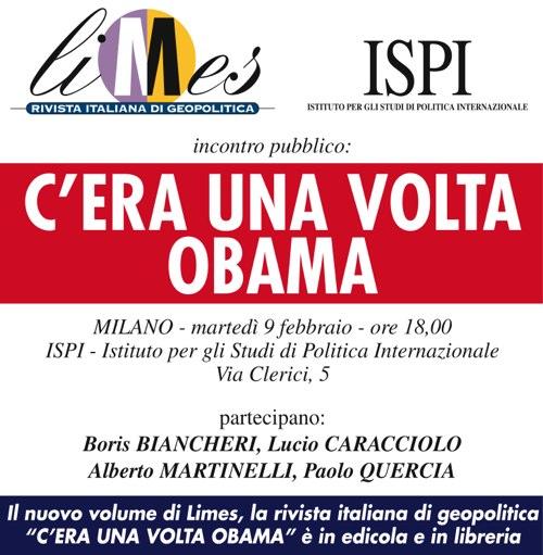 Milano: C'era una volta Obama