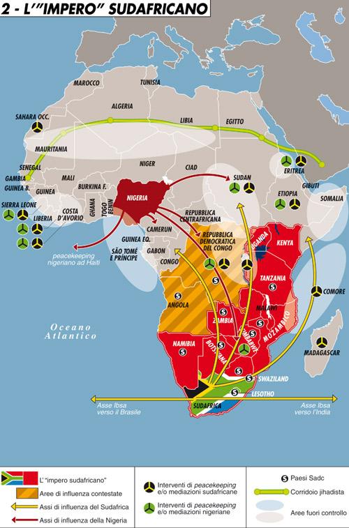 "L'""impero"" sudafricano"