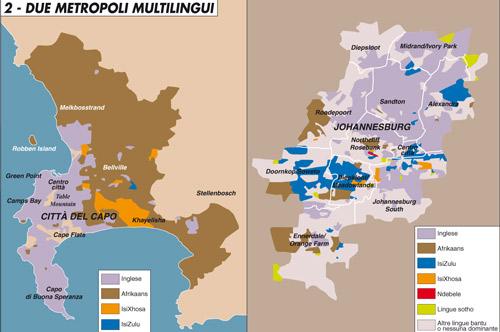 Due metropoli multilingui