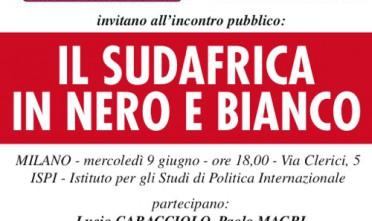 Milano: Il Sud Africa in nero e bianco
