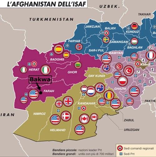 Afghanistan: la 30a vittima italiana
