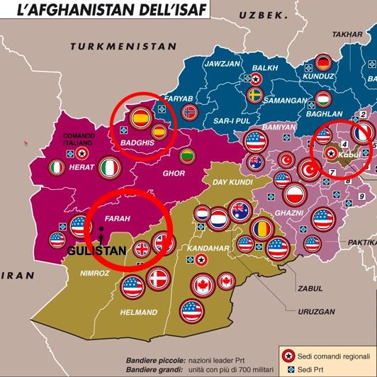 Afghanistan: attacco contro italiani a Farah