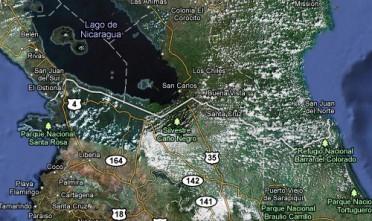 Costa Rica, Nicaragua e la guerra di Googlemaps