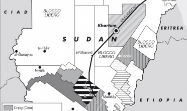 L'onda della rivolta nordafricana arriva in Sudan