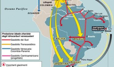 """Carta tratta da Limes 2/2007 """"Chávez-Castro l'Antiamerica""""A dicembre, il presidente del Venezuela Hugo Chávez ha ottenuto dall'assemblea nazionale a fine mandato poteri legislativi speciali per 18 mesi.La mossa, che non sarebbe stata possibile a gennaio quando con l'insediamento del nuovo parlamento l'opposizione avrà più peso, ha riaperto il dibattito di sempre: Chávez è un dittatore o un democratico?"""