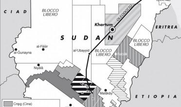 I mercenari sudanesi in aiuto a Gheddafi