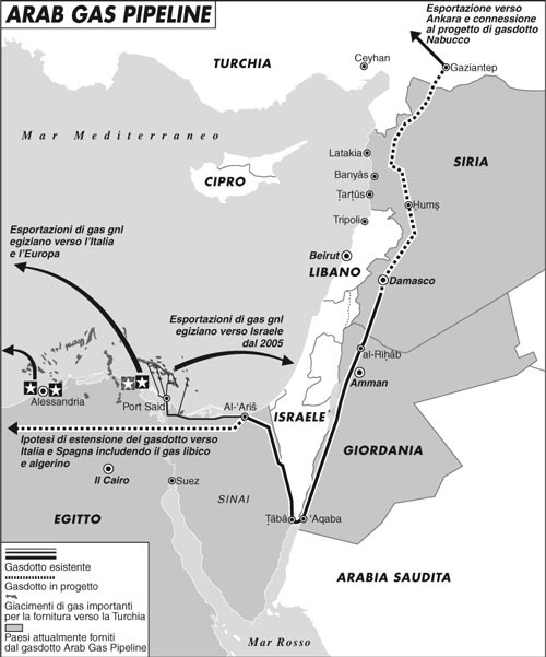 L'attentato al gasdotto egiziano