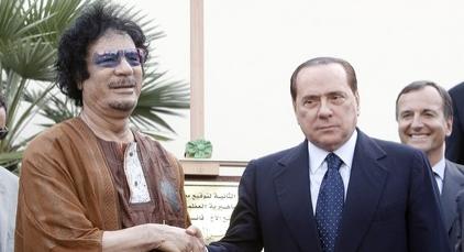 Il potere dei Gheddafi, in Italia e non solo