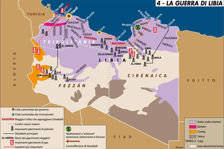 Le opzioni dell'America in Libia