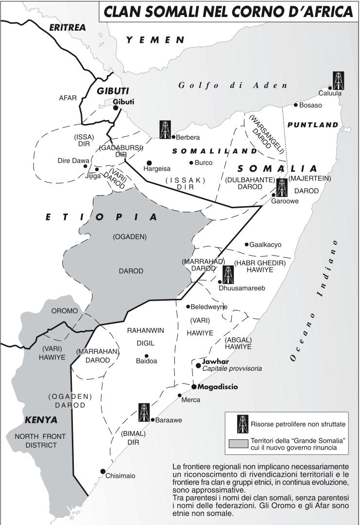 La Somalia al capolinea